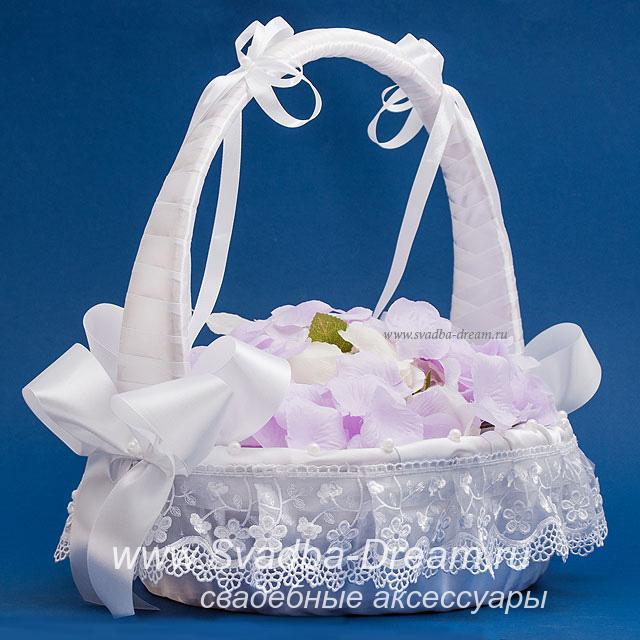 Корзина для подарков на свадьбе 39